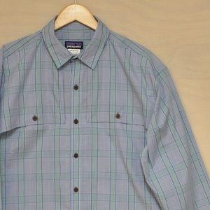 Patagonia Long-Sleeved Island Hopper Shirt L